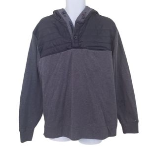 Tommy Hilfiger MIXED MEDIA POPOVER HOODIE - Men's